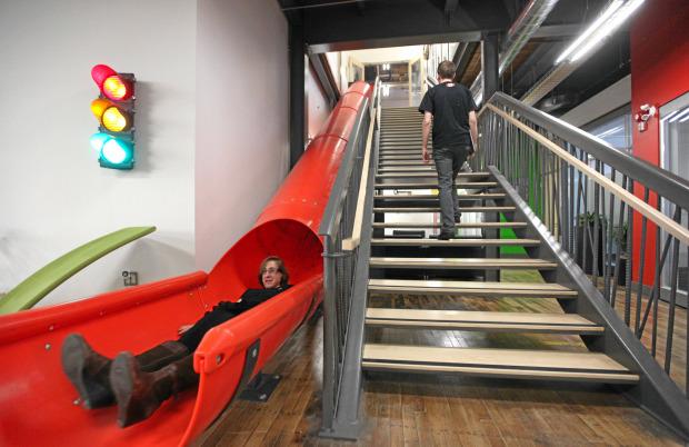 google office in uk. Shoreditch Google Office Slide In Uk O