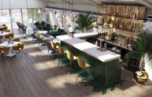 Shoreditch Office Space Bar