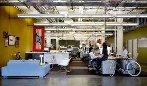 Facebook's current office