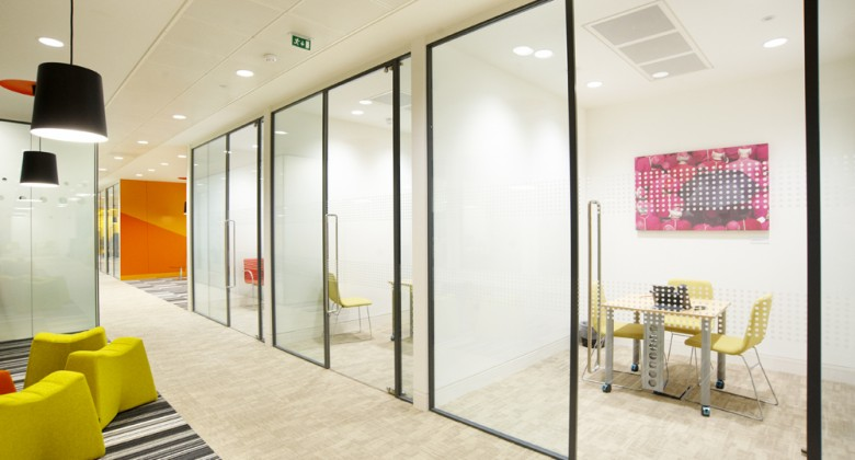 glass partitioning shoreditch office space helping you