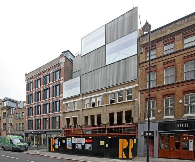 Curtain street shoreditch
