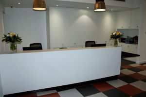 Coppergate house serviced office reception