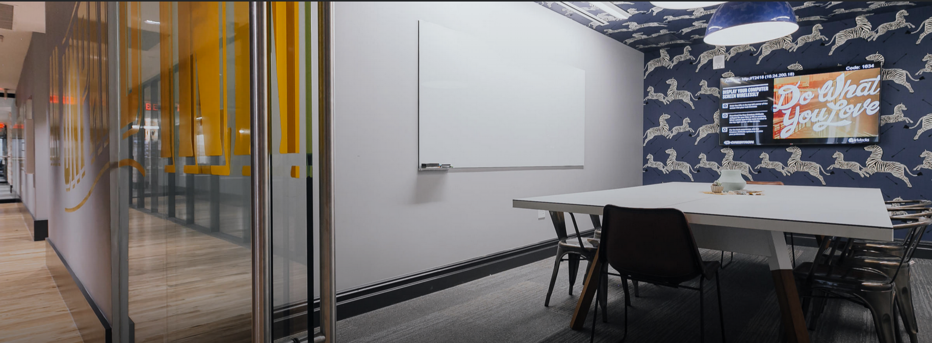 Wework Shoreditch - meeting room