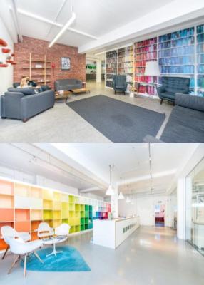 Shoreditch office - Scrutton Street interior
