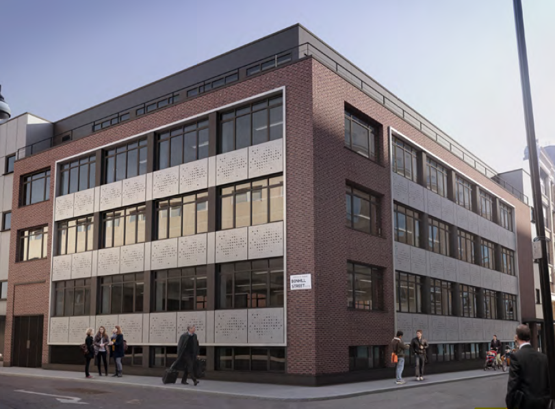 Shoreditch office 4 tabernacle street exterior