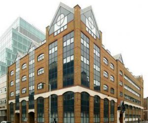 contemporary office in Shoreditch