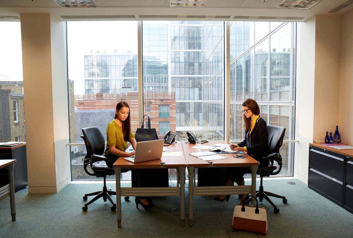 Shoreditch Serviced offices at 228 Bishopsgate inside