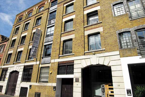 Serviced office space in Shoreditch