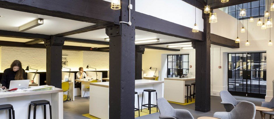 serviced offices in Shoreditch (The Black and White Building)