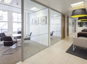 60 New Broad Street office interior