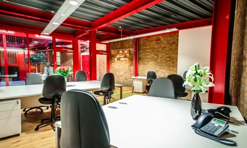 A serviced office space at First Base, Old Street