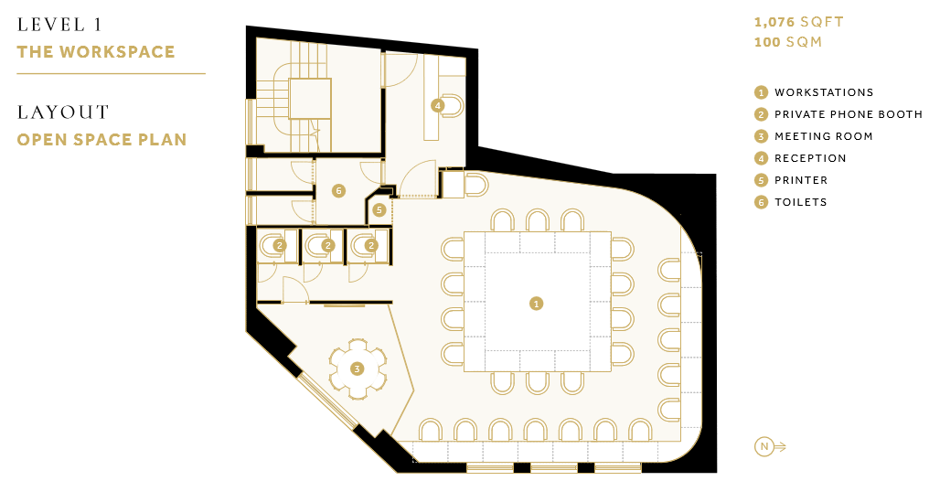 Shoreditch platform level 1